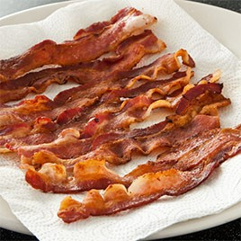 Bacon, Fried